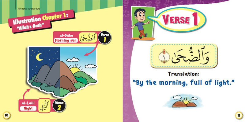 Tafsir Mini Surah Ad-Duha For Children - (TBBK1426)