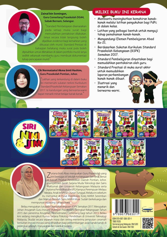 Smart Reading With Nini & Jimi English - Book 2