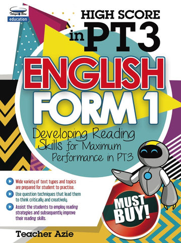 High Score in PT3 - English Form 1