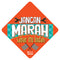 Car Sign - Jangan Marah - (MC-CS03)