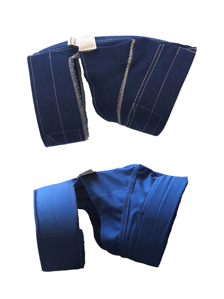 No Flap Ear Wrap Denim/Pinpoint Combo Kit