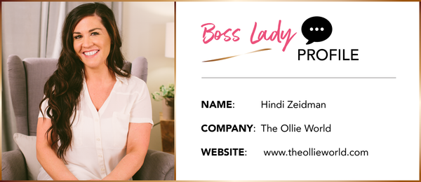 BOSS LADY INTERVIEW: Hindi Zeidman