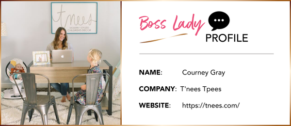 BOSS LADY INTERVIEW: Courtney Gray