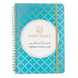 Control Freak workbook journal for happiness, less stress and letting go. Life coach tips and tools. Gratitude, intention, reflection.