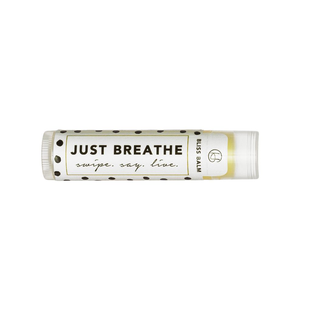 "Bliss Balm: ""Just Breathe"""