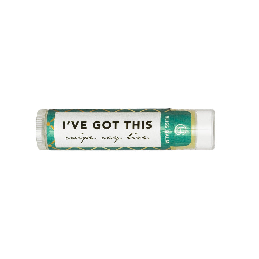 "Bliss Balm: ""I've Got This"""