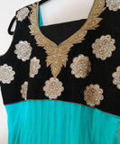 GREEN, BLACK  EMBROIDARY - XL (110)