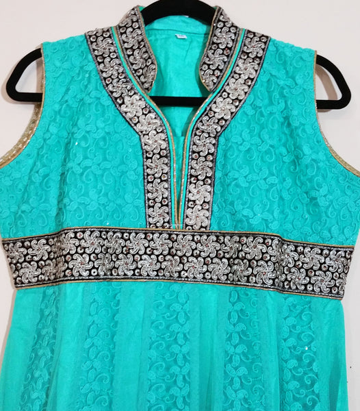 Green / Golden Embroidary - XXL (129)