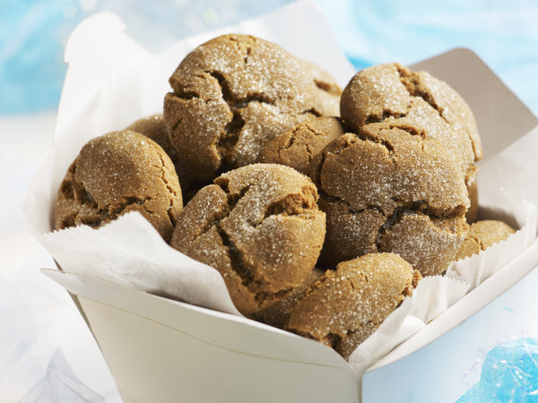 Molasses Crackle-Top Cookies