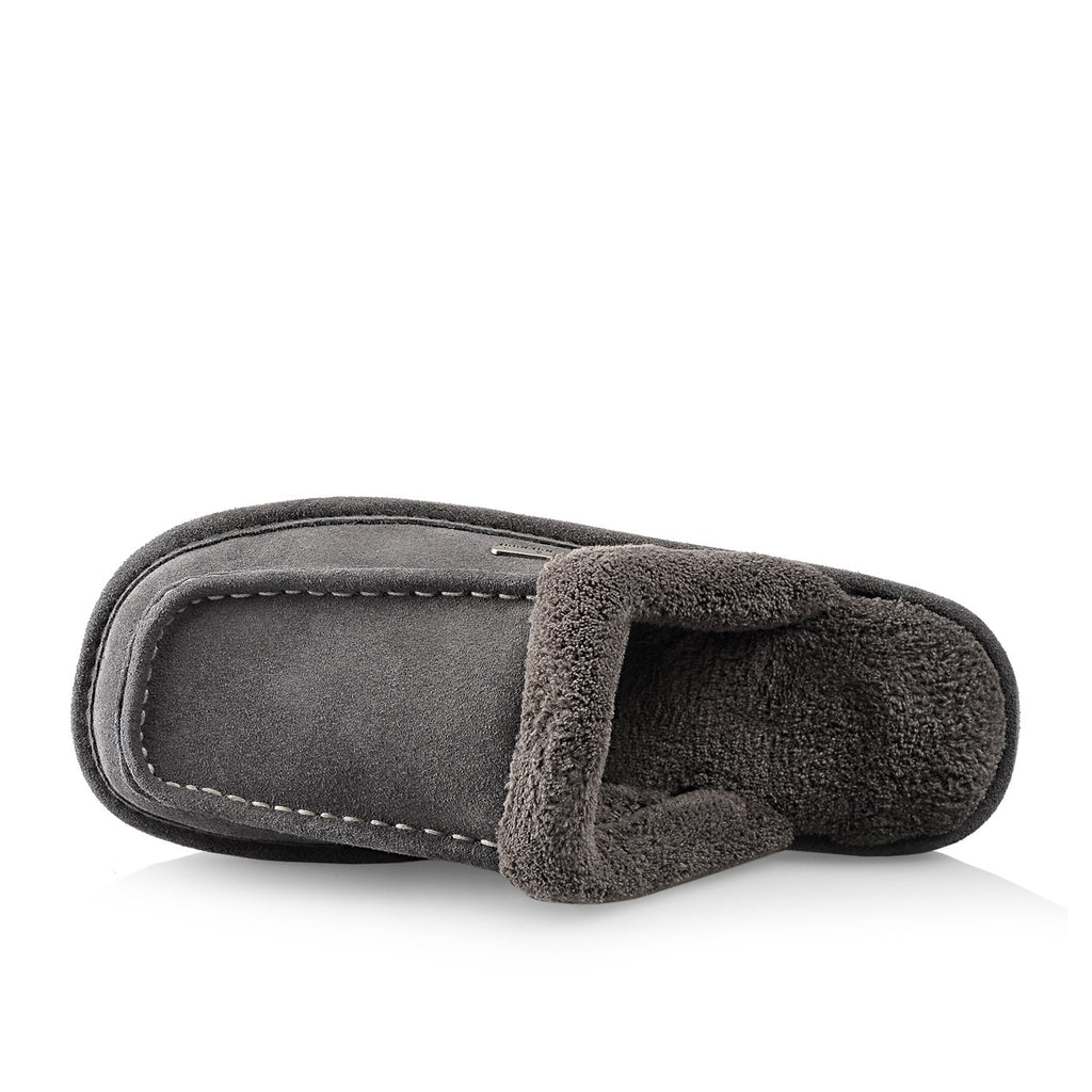 Ed men's slipper (Grey) - Nuknuuk