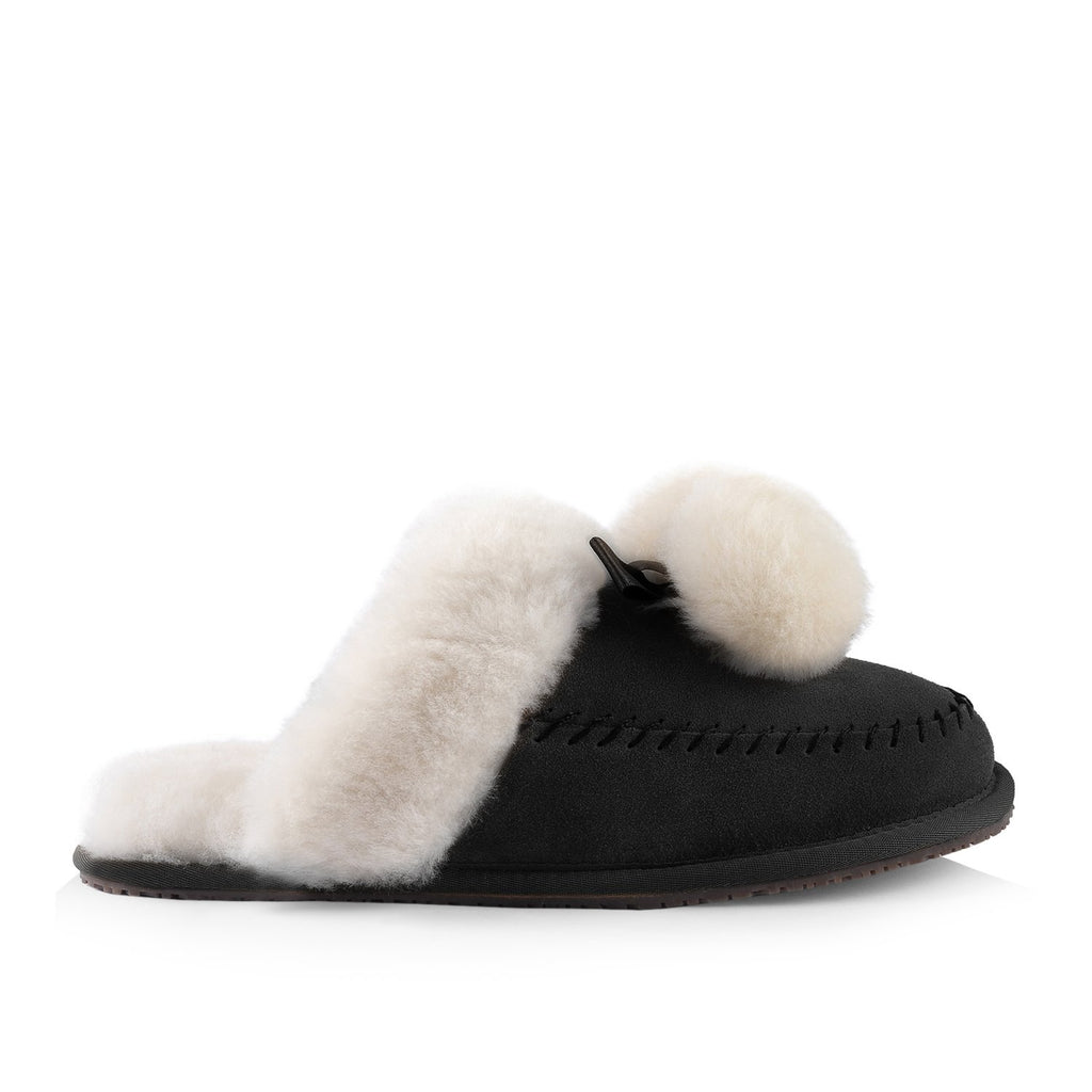 Ella Women's Slipper (Black)