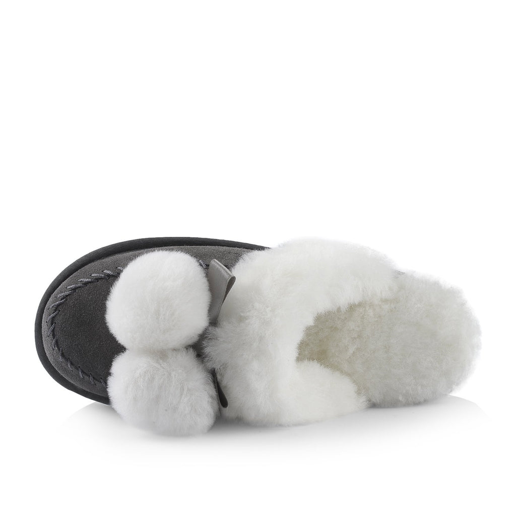 Ella Women's Slipper (Grey) - Nuknuuk
