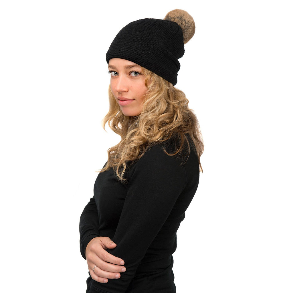 Loren Hat (Black/Natural) - Nuknuuk