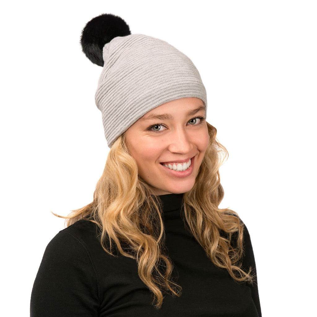 Loren Hat (Grey Black)