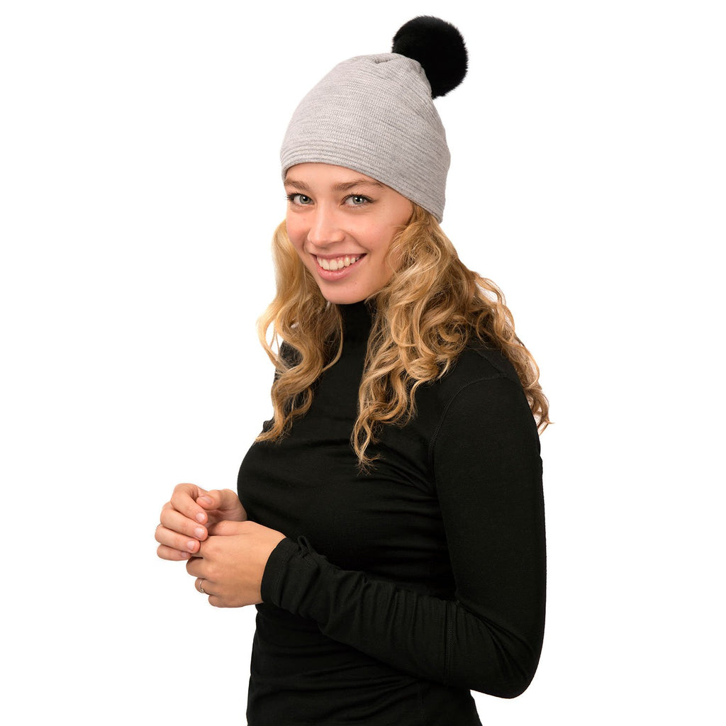Loren Hat (Grey Black) - Nuknuuk