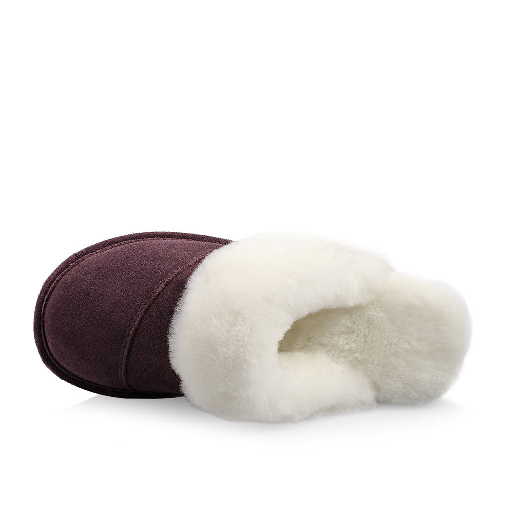 Joy Women's Slipper (Aubergine) - Nuknuuk