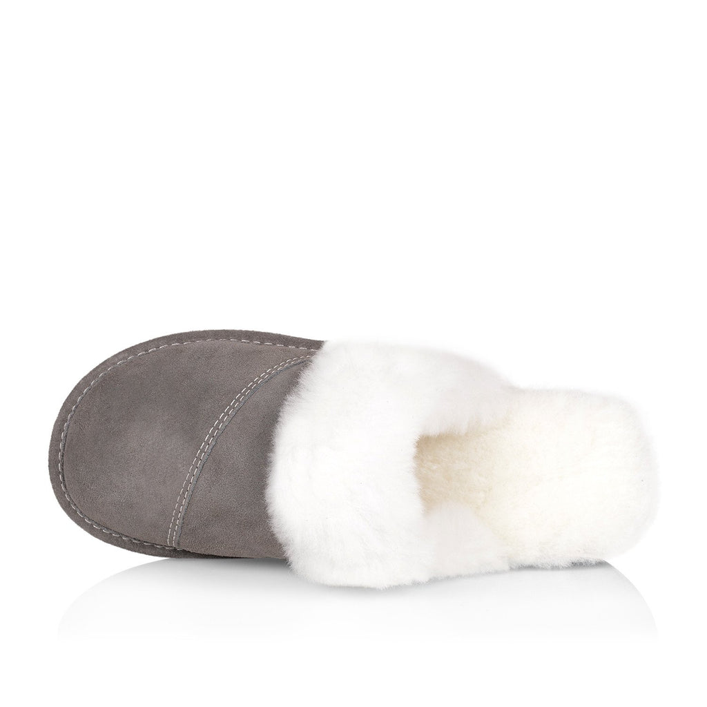 Joy Women's Slipper (Grey) - Nuknuuk