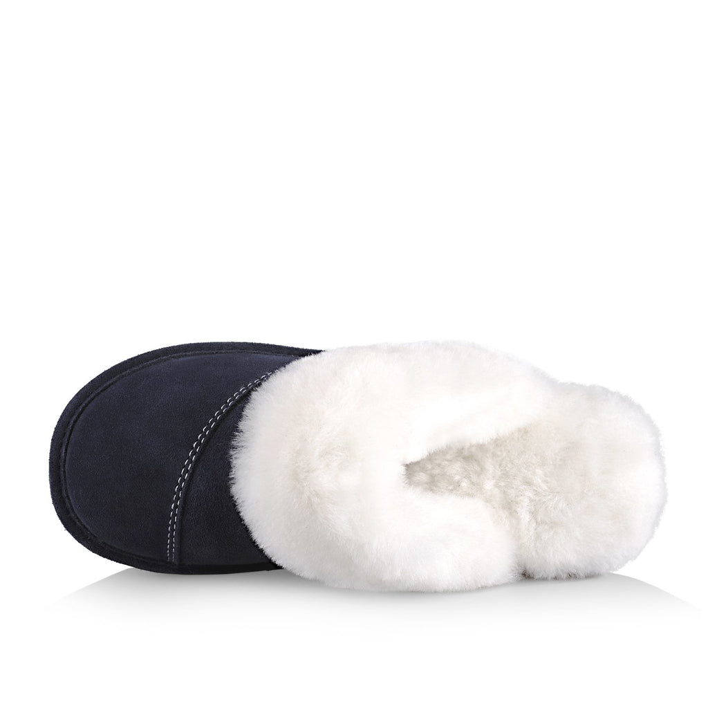 Joy Women's Slipper (Navy Blue)
