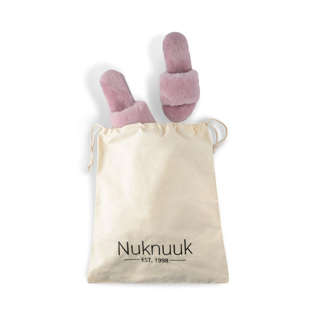 Nuknuuk travel bag for slippers