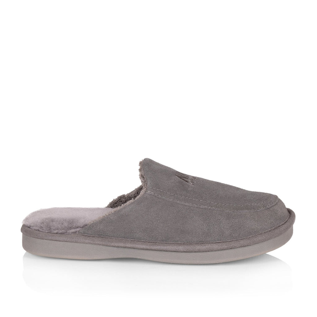 Todd men's slipper (Grey) - Nuknuuk
