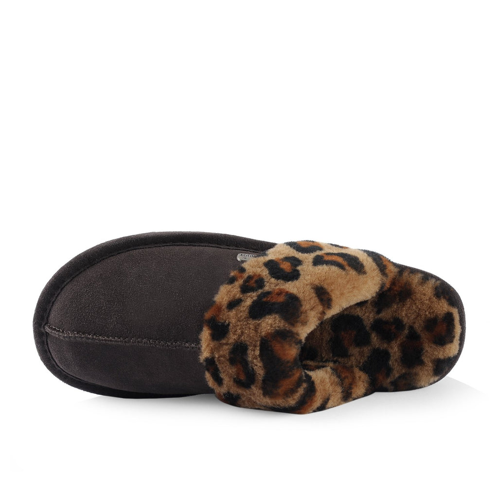 Zanzibar Women's Slipper (Brown) - Nuknuuk