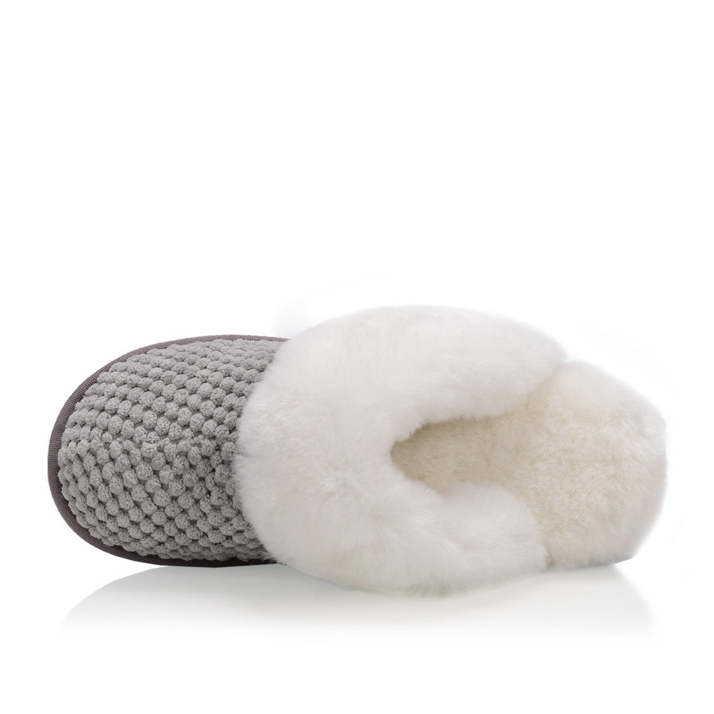 Alexa Women's Slipper (Grey) - Nuknuuk