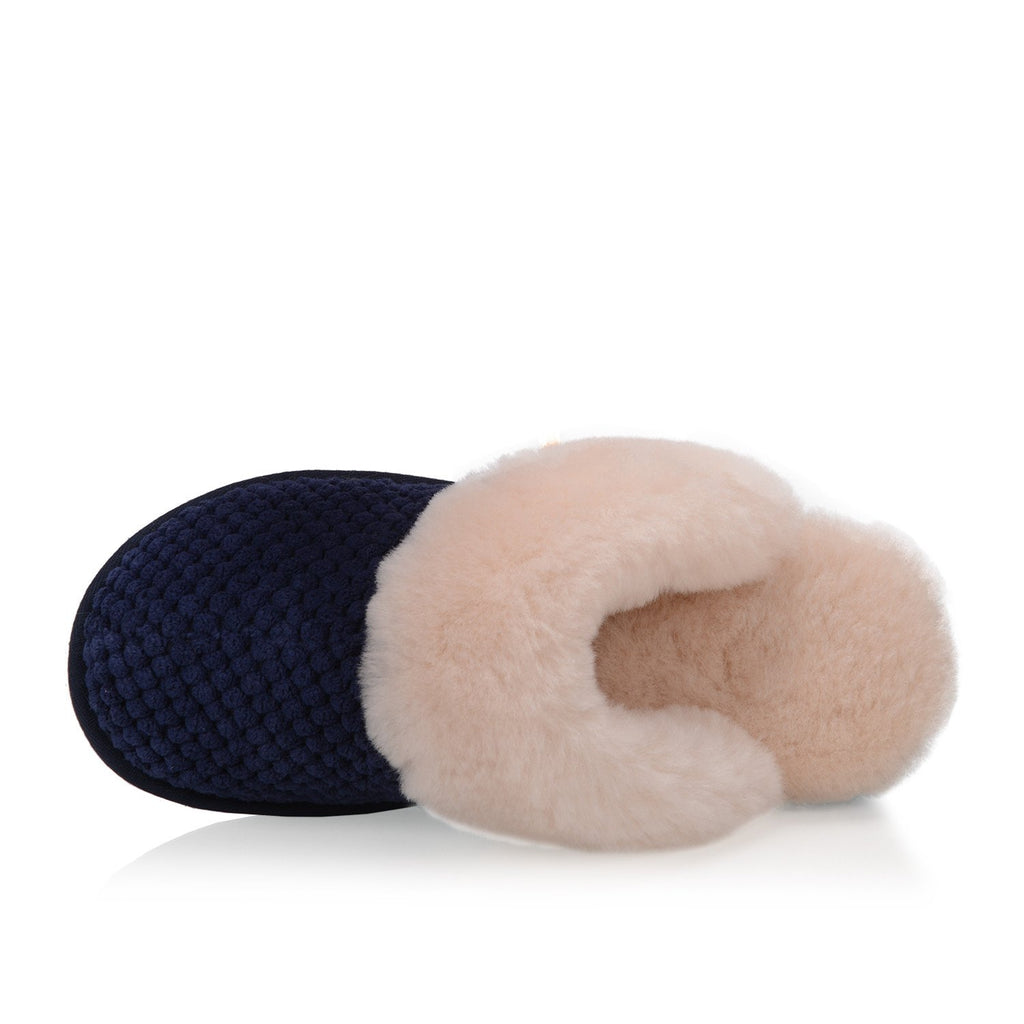 Alexa Women's Slipper (Navy) - Nuknuuk