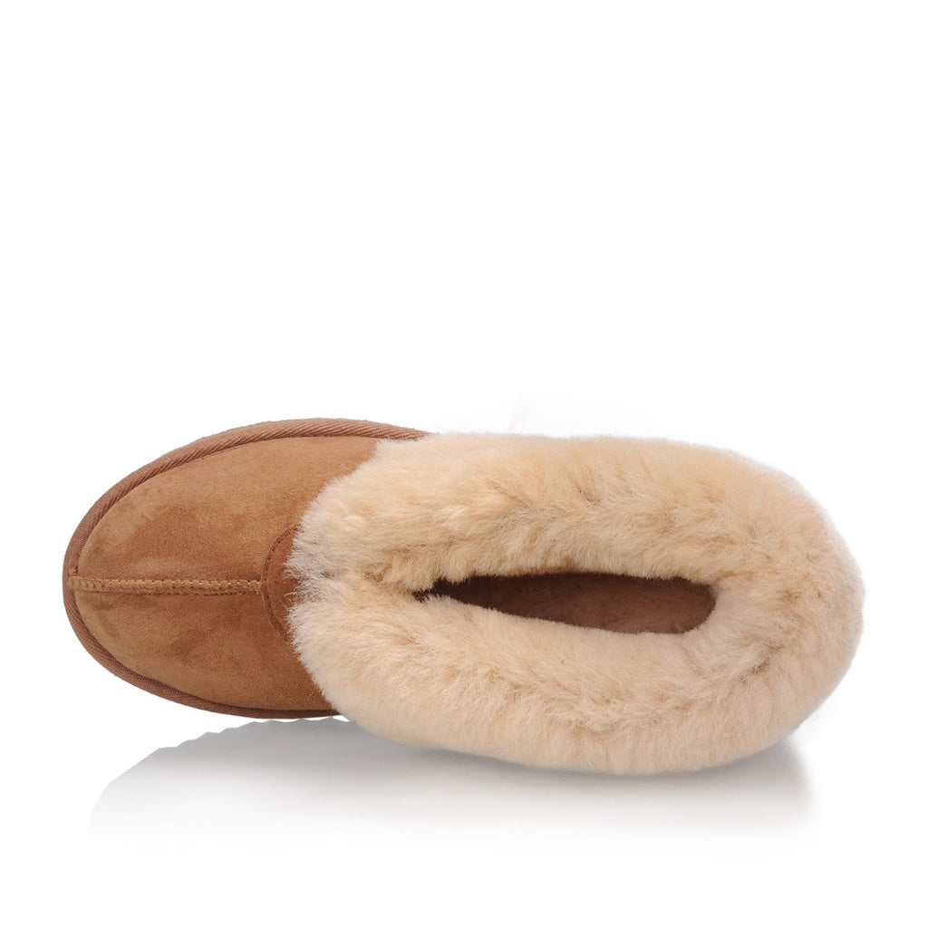 The Classic Women's Slipper (Chestnut)