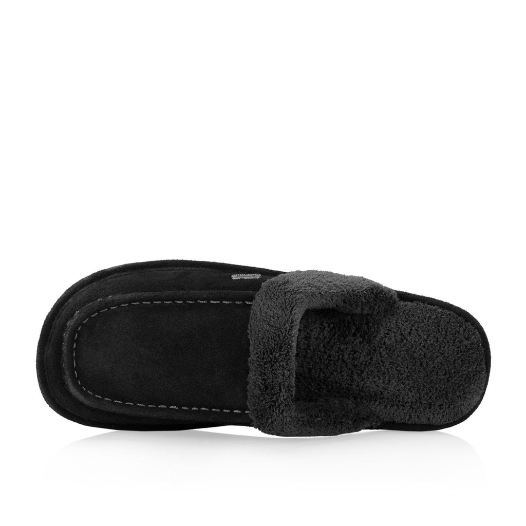 Ed men's slipper (Black) - Nuknuuk