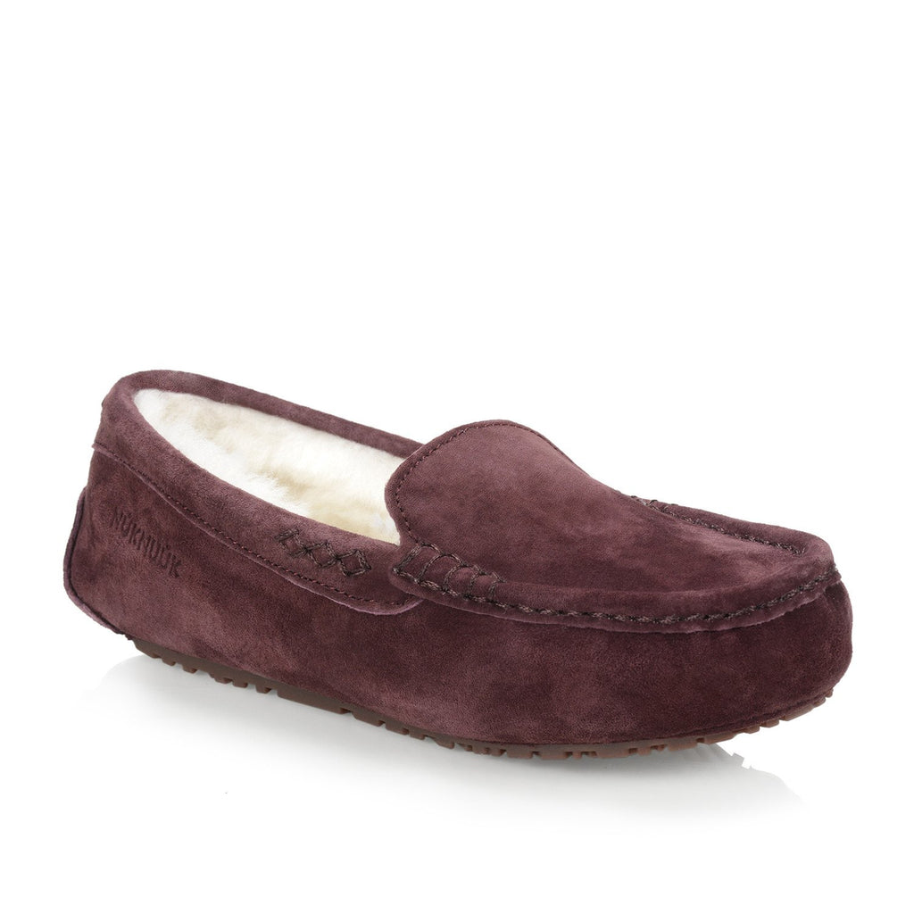 Loulou Women's slipper (Aubergine)