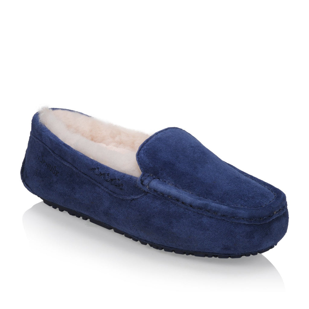 Loulou Women's slipper (Blue)