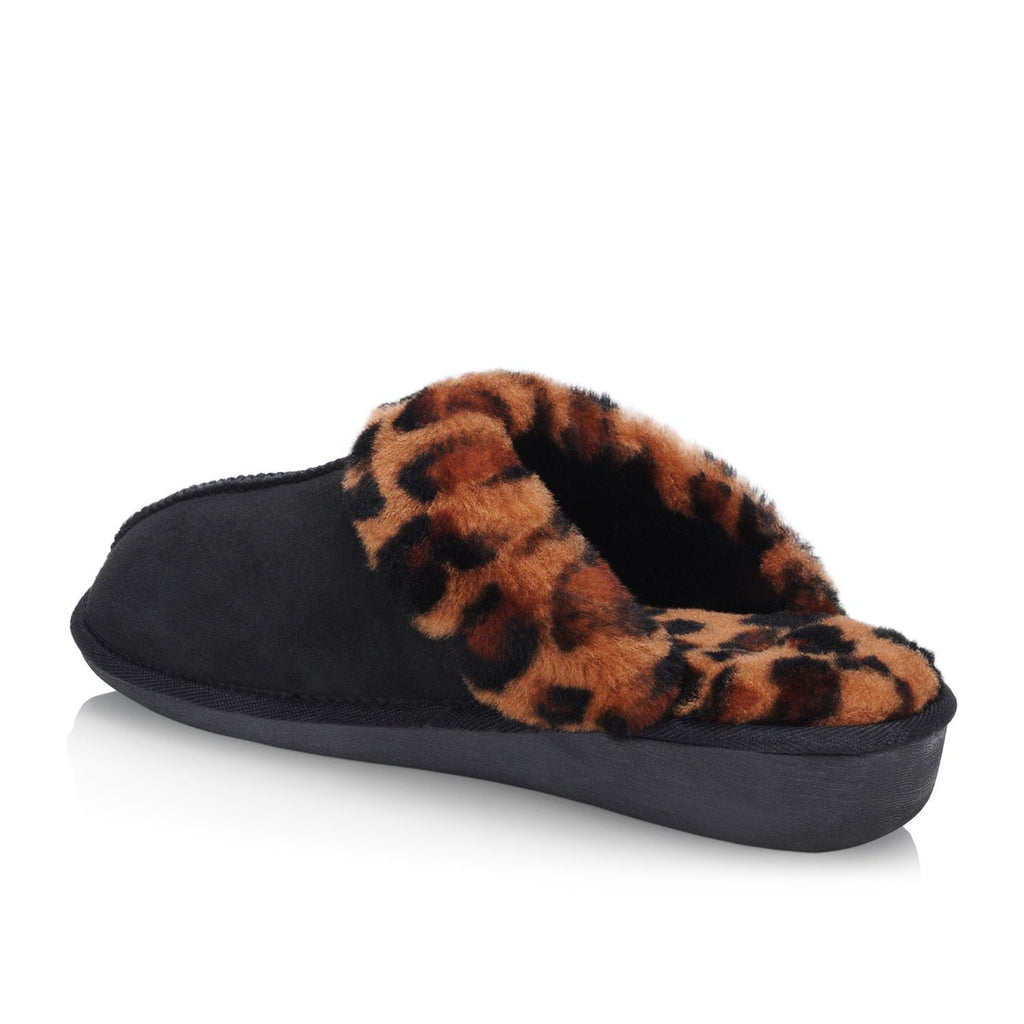 Zanzibar Women's Slipper (Black) - Nuknuuk