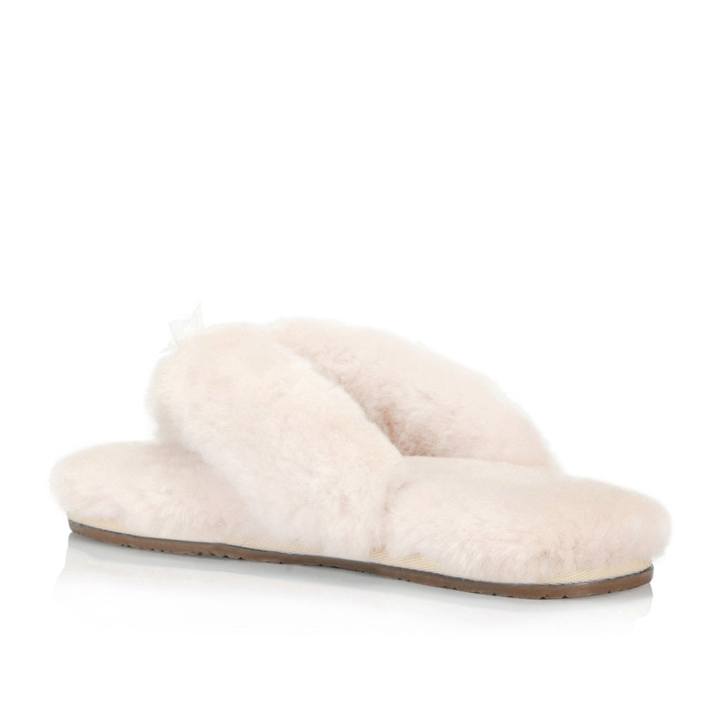 Zaza Women's  Flip Flop (Cream)