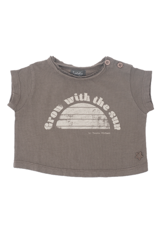 "Copia del ""Grow With The Sun"" Brown T-shirt"