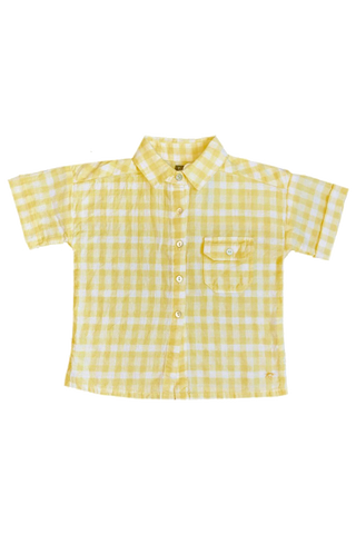 Yellow Vichy Shirt