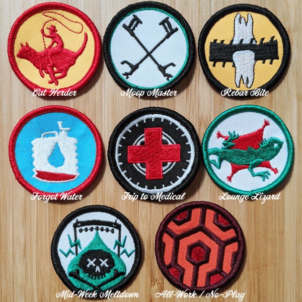 De / Merit Badges 1.0
