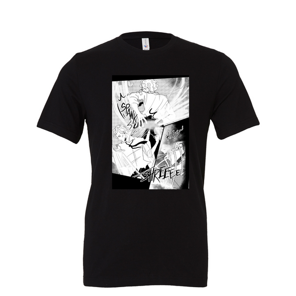 Comic Graphic T; Avail in Black or White