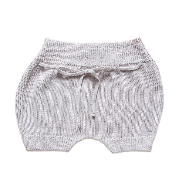The Bubble Shorts ~ Light Grey