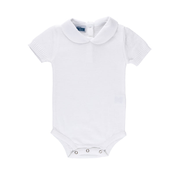 SS Peter Pan BodyShirt ~ White