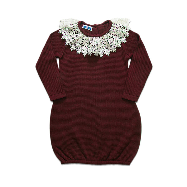 Bella Dress ~ Burgundy