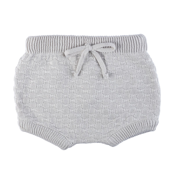 Knit Bloomers ~ Cloud Grey