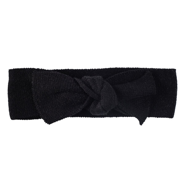 Bow Headband ~ Black
