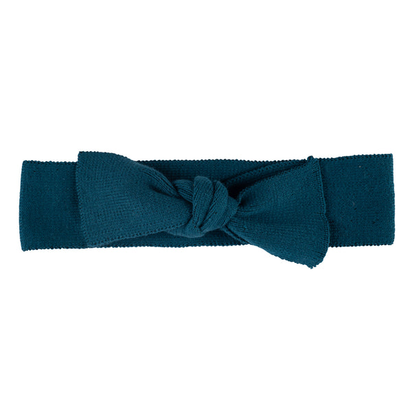 Bow Headband ~ Teal
