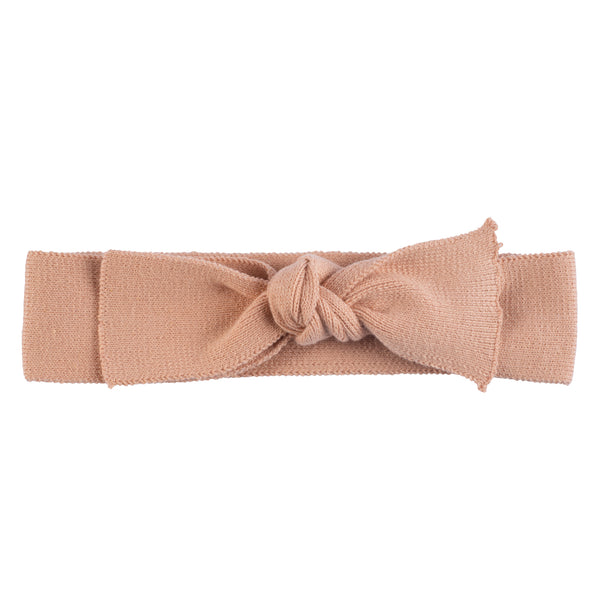 Bow Headband ~ Salmon
