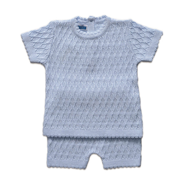 SS Ivana Boy Set  ~ Baby Blue