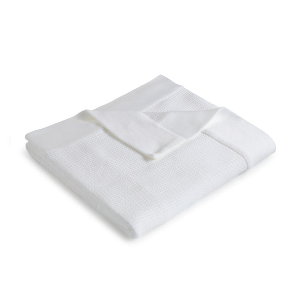 Ribbed Blanket ~ White