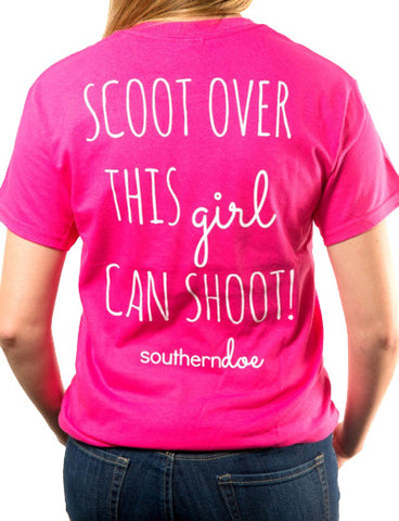 Scoot Over Shoot Tee
