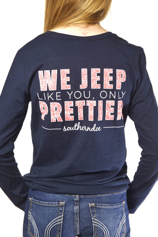 Child's Jeep Prettier Longsleeve