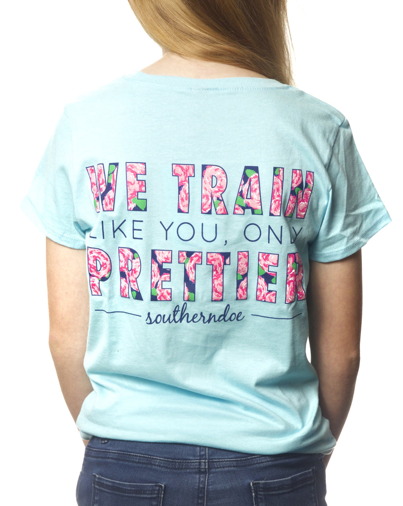Child's Train Prettier Tee