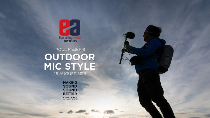 Outdoor Mic Style at Everything Audio, London, 15.08.2019